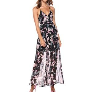 ASTR The Label  Sleeveless Floral Long Maxi Dress